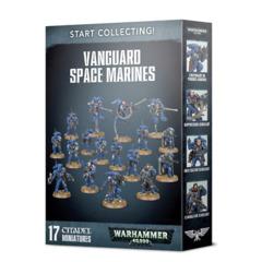 40K START SPACE MARINES VANGUARD