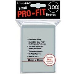 Perfect Fit Sleeves - Ultra Pro - Small Sized (100 pack)