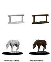 MINI ELF HORSE & HITCH