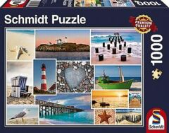 PUZZLE 1000 SCHMIDT BY THE SEA