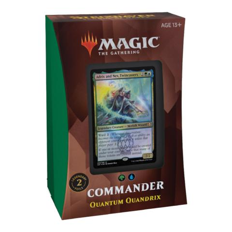 Commander 2021 Edition - Quantum Quandrix Commander Deck