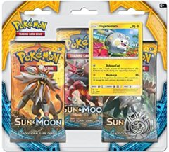 Sun and Moon 3 Pack Blister - Togedemaru
