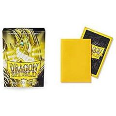 Dragon Shield Sleeves Japanese Matte (60 Count) - Yellow