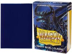 Dragon Shield Sleeves Japanese (60 Count) - Night Blue