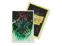 Dragon Shield Sleeves Japanese (60 Count) - Limited Edition Art Blood Eyes
