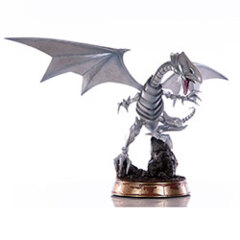Blue-Eyes White Dragon (Silver) PVC Statue Collectible 14