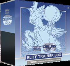 Pokemon Chilling Reign Ice Ryder Calyrex Elite Trainer Box