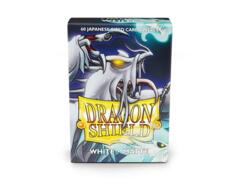 Dragon Shield Sleeves Japanese Matte (60 Count) - White