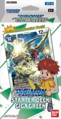 Digimon Starter Deck - Giga Green