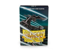 Dragon Shield Sleeves Japanese Matte (60 Count) - Jet