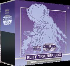 Pokemon Chilling Reign Shadow Ryder Calyrex Elite Trainer Box