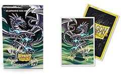 Dragon Shield Sleeves Japanese (60 Count) - Limited Edition Art Qyonshi