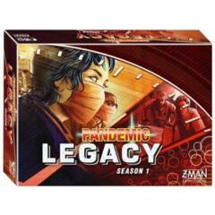 Pandemic Legacy Season 1 Red