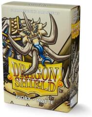 Dragon Shield Sleeves Japanese Matte (60 Count) - Ivory