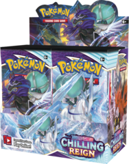 Pokemon Chilling Reigns Booster Box (Wave 2 Preorder )