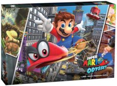 Super Mario Odyssey Snapshots 1000 Piece Jigsaw Puzzle