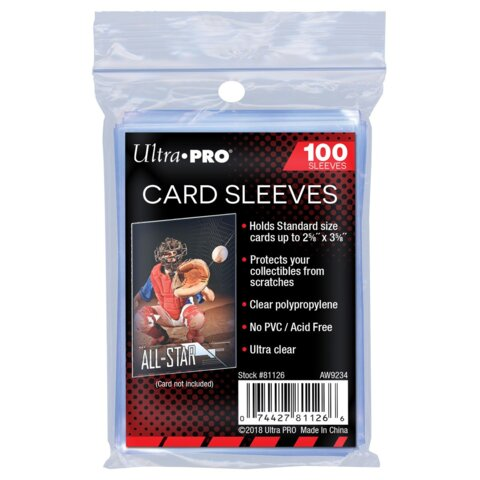 Ultra Pro Card Sleeves - Penny Sleeves (100 Count)