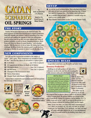 Catan Scenarios: Oil Springs (In-Store Purchase Only)