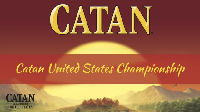 Catan 2019 National Qualifier Tournament