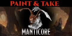 Manticore Take and Paint