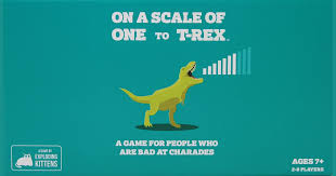 On a Scale of One to T-Rex