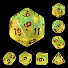 Foam Brain: LimeLight RPG Dice Set