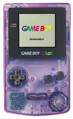 Game Boy Color Atomic Purple