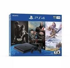 Sony - PlayStation 4 1TB Only on PlayStation Console Bundle - Jet Black