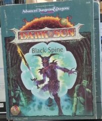 Black Spine (DARK SUN) Tweet, Jonathan,Prusa, Tom,Browder, Dustin,Baas, Walter A