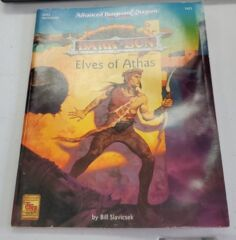 AD&D DARK SUN ELVES OF ATHAS 2423 DUNGEONS & DRAGONS 2nd EDITION