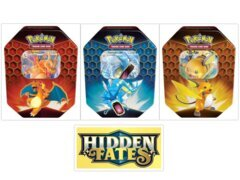 1 POKEMON TCG: HIDDEN FATES TIN
