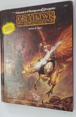 Advanced Dungeons and Dragons AD&D - Greyhawk Adventures #2023 -1988- Hard Cover