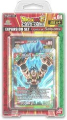 DRAGON BALL SUPER TCG: UNITY OF SAIYANS EXPANSION SET 04