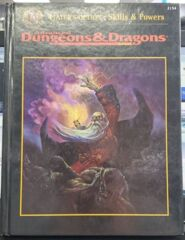 AD&D Advanced Dungeons Dragon - Players Option: Skills & Powers