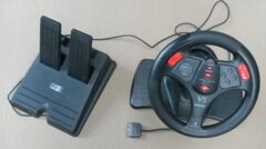 InterAct V3 Racing Wheel for Sony PlayStation PS1 PS2 Game Console