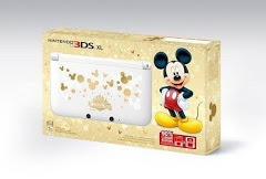 Nintendo 3DS XL Magical World Mickey Mouse Limited Edition