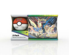 Pokémon TCG 2-Pack Metal Tins - 3 Foil Cards 8 Booster Packs From Various Series