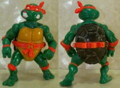 Michaelangelo with Storage Shell