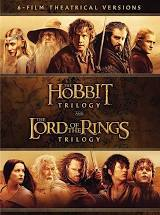 The Hobbit trilogy + The Lord of The Rings Trilogy Blu Ray