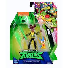 Rise of the Teenage Mutant Ninja Turtles April Action Figure