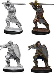 DND UNPAINTED MINIS WV14 HUMAN PALADIN MALE