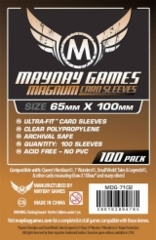 Mayday - Magnum Card Sleeves 65Mm X 100Mm 100Ct