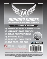 Mayday - Premium Card Sleeves 87Mm X 112Mm 50Ct
