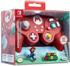 SWITCH - WIRED FIGHT PAD PRO SUPER MARIO