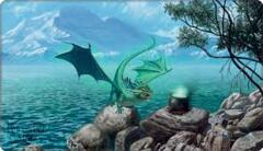 Dragon Shield Playmat:  'Bayaga' the Familiar