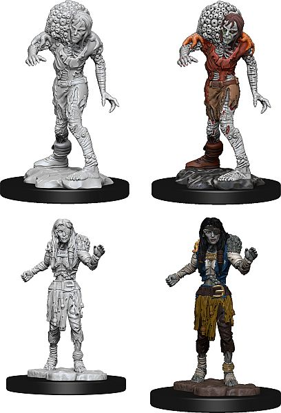 DND UNPAINTED MINIS WV14 DROWNED ASSASSIN/ASETIC