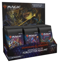 MTG - ADVENTURES IN THE FORGOTTEN REALMS - SET BOOSTER BOX - 30 BOOSTERS