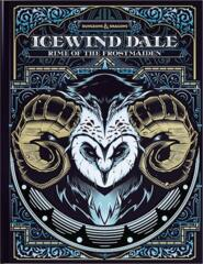 ICEWIND DALE : RIME OF THE FROSTMAIDEN - COUVERTURE ALTERNATIVE