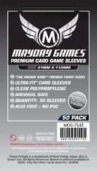 Mayday - Premium Card Sleeves 61Mm X 112Mm 50Ct