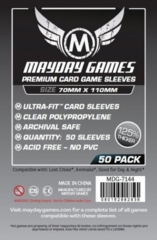 Mayday - Premium Card Sleeves 70Mm X 110Mm 50Ct